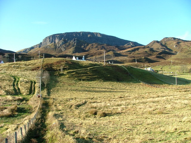 Croftland below the Quiraing