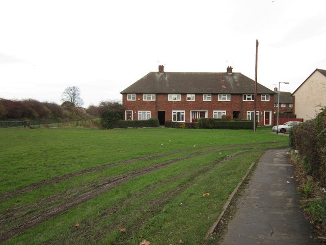 Houses on Harleston Close, Longhill Estate