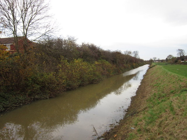 Holderness Drain from Saltshouse Road
