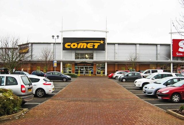 Comet, Unit F, Crossley Retail Park, Carpet Trades Way, Kidderminster
