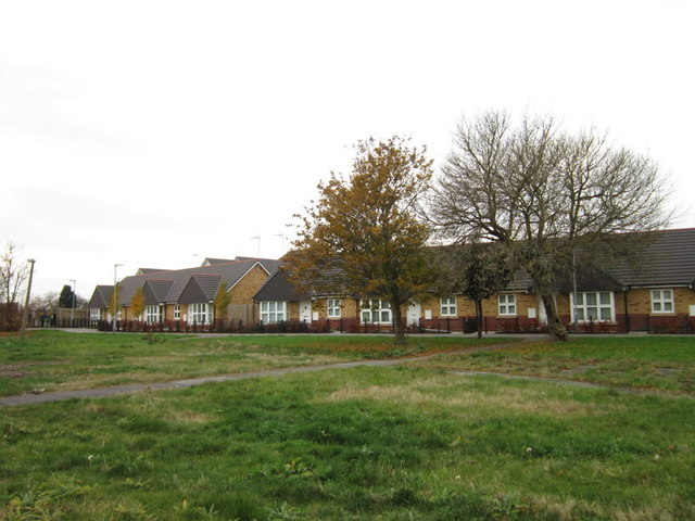 New bungalows on the former Camberwell Way