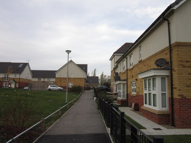New houses on Barking Close