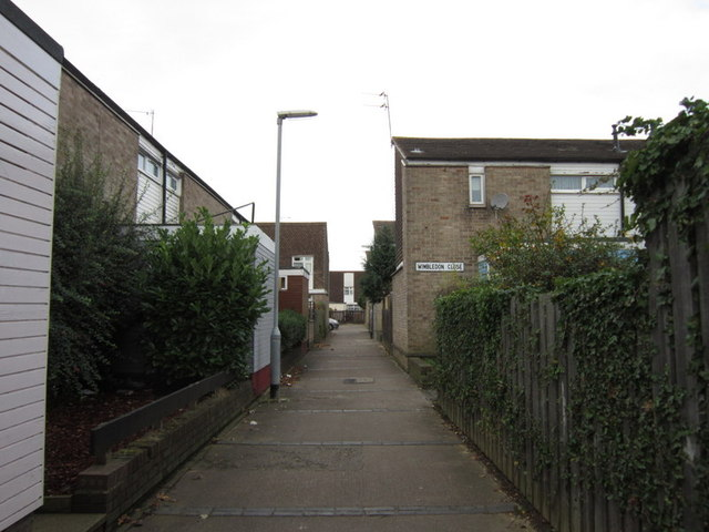 Wimbledon Close, Ings Road Estate