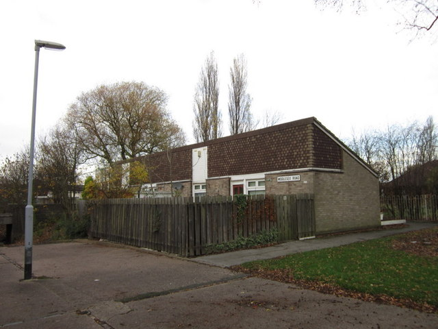 Bungalows on Middlesex Road, Ings Road Estate