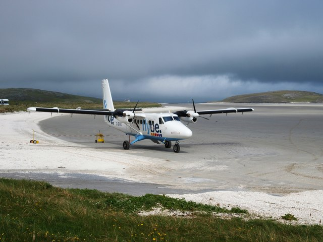 Barra Airport Arrivals