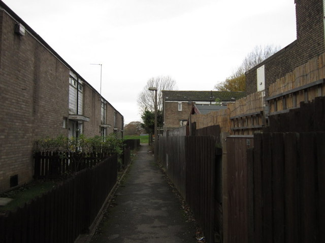 Ealing Close, Ings Road Estate