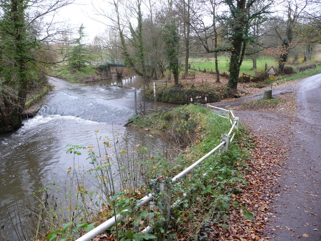Ford through the River Rea at Neen Savage