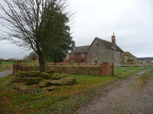 Little Stepple Farm house