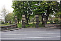 NZ2364 : Entrance to Westgate Hill cemetery from Westgate Road by Roger Templeman