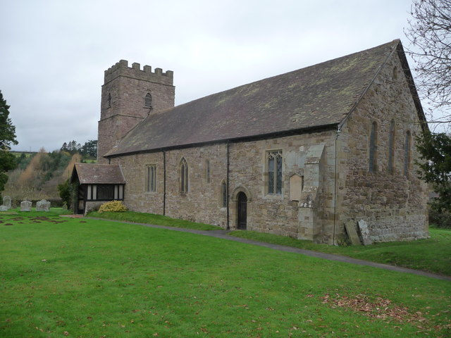 St. Mary's church, Neen Savage