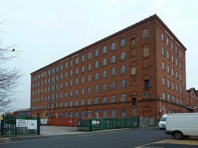 Hartford Works, Suthers Street, Oldham
