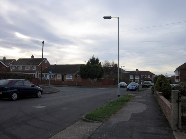 Sutton House Road at Minster Close