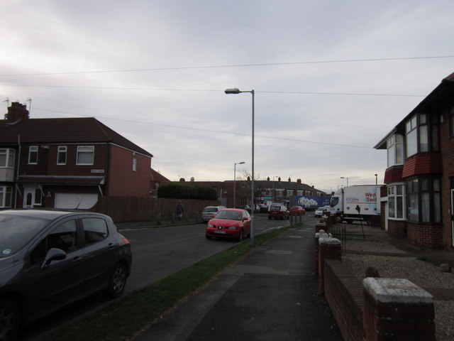 Sutton House Road towards Ings Road