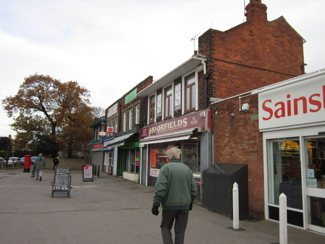 Shops on Ings Road, Hull