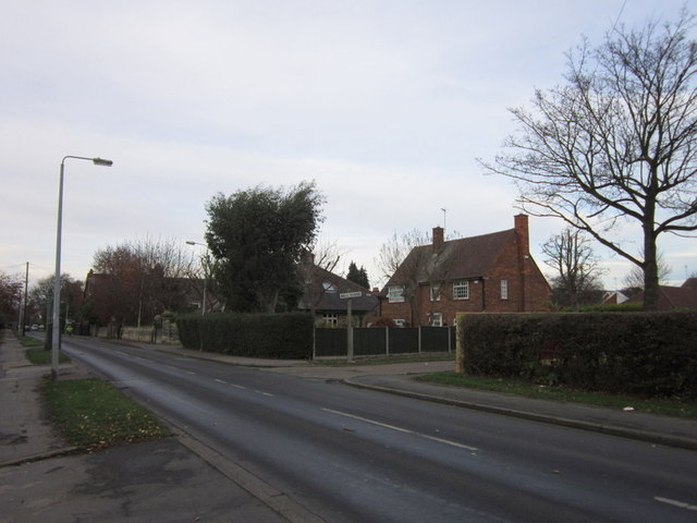 Tween Dykes Road at Bell Close