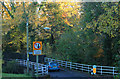 ST5763 : 2012 : One way bridge, Chew Magna by Maurice Pullin