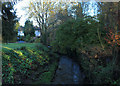 ST5763 : 2012 : The Winford Brook, Chew Magna by Maurice Pullin