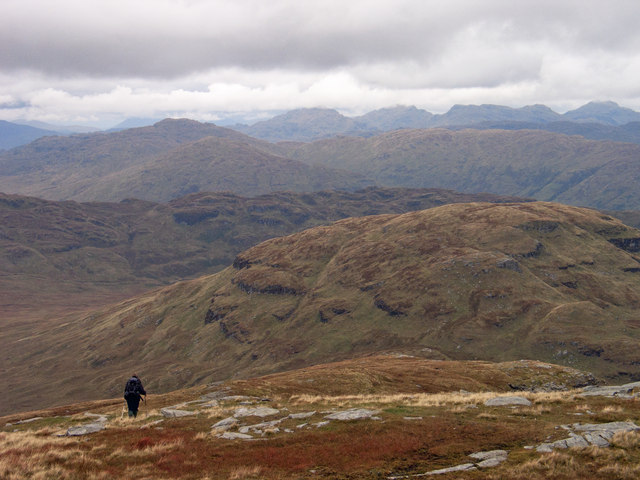 North ridge of Ben Lomond
