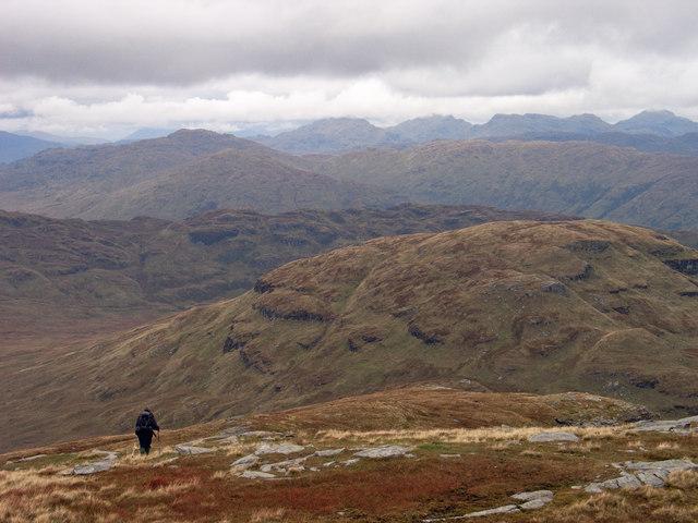 North ridge of Ben Lomond