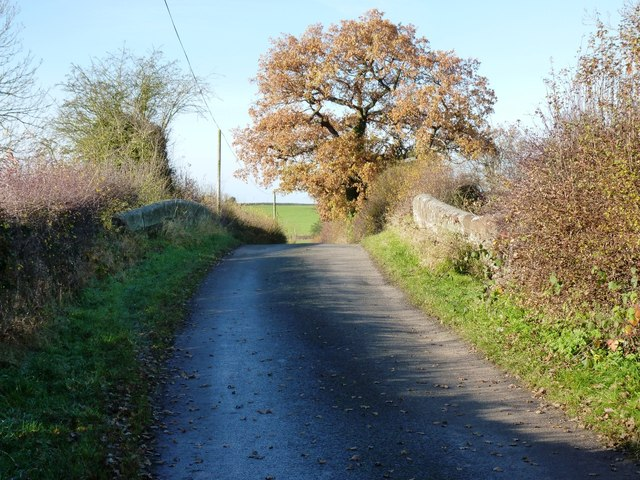Bridge on the lane near Sutton