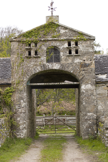 Entrance to Gorten Steading
