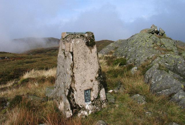Summit area of Beinn Bhreac