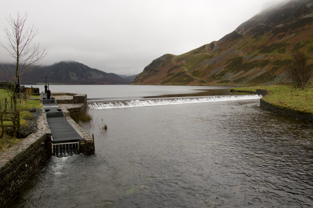 Weir at Ennerdale Water