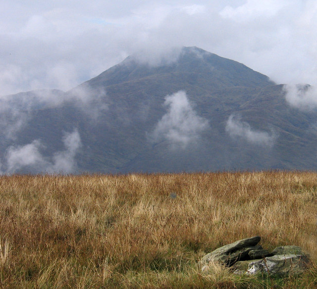 Summit area of Beinn Uird
