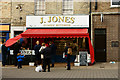 TL8783 : J.Jones, Butcher, Thetford, Norfolk by Peter Trimming