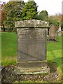 NS3878 : Millburn Kirkyard: Meikleham/Colquhoun Memorial by Lairich Rig