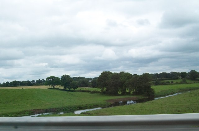 The River Boyne from the N3 south of Derver