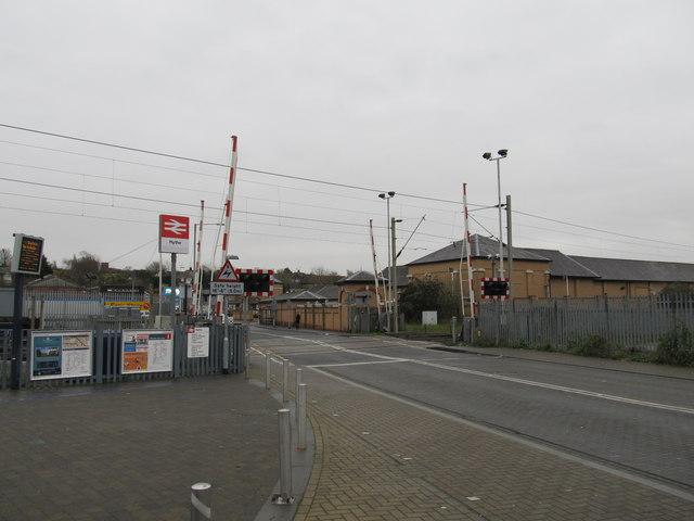 Level Crossing, Hythe Colchester