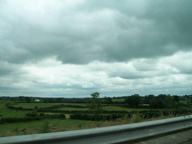 Farmland east of the N3 at Castlekeernan