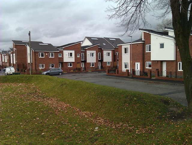 New housing on old streets
