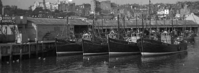Fishing boats, Scarborough Harbour