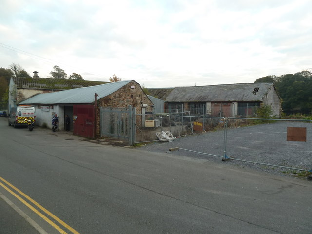 Former engineering works - Caernarfon