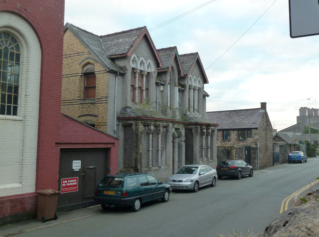 Former engineering works, Caernarfon