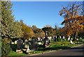 TQ3272 : Various monuments, West Norwood Cemetery (20) by Stephen Richards