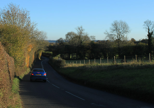 2012 : B3130 Chew Road, south east toward Chew Magna