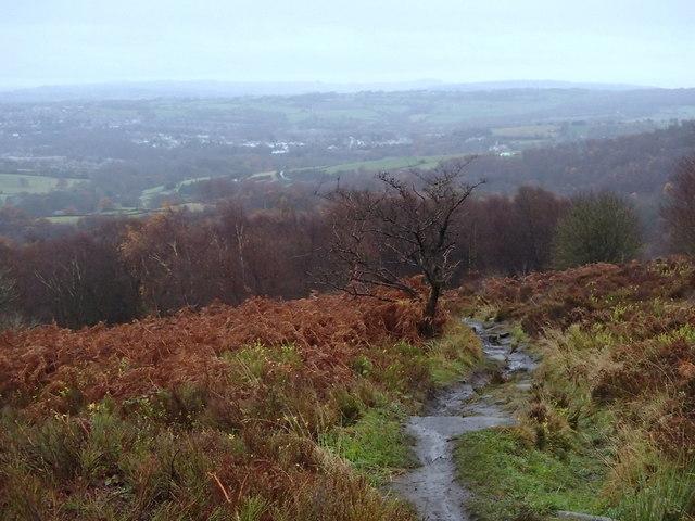 Blacka Moor footpath