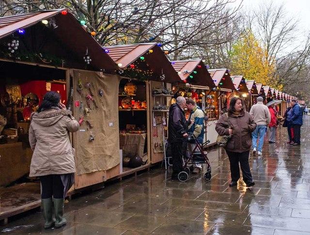Christmas Market in the Promenade, Cheltenham