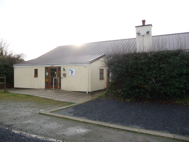 Village Hall in the Wyre Forest near Pound Green