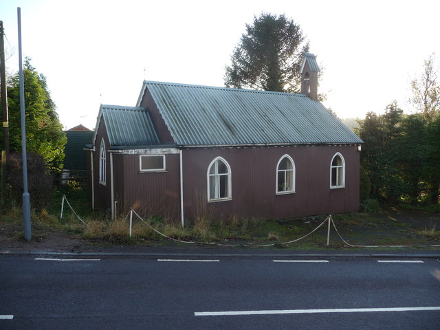 St. Andrew's chapel, Buttonoak in the Wyre Forest