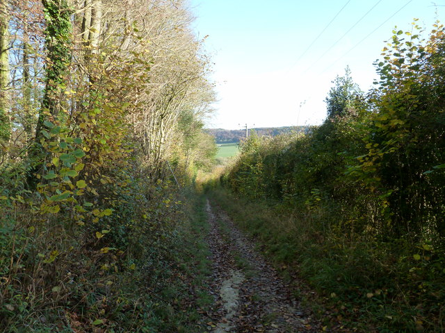 Monarch's Way descending to Stoughton