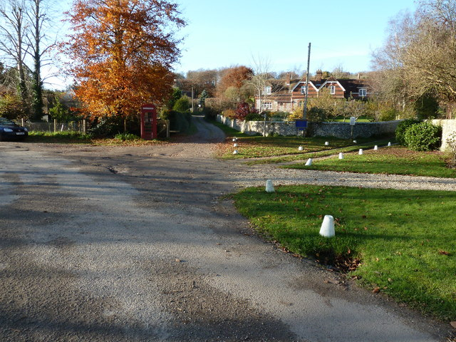 Stoughton village on an autumn day