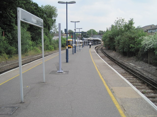 Hayes railway station, Greater London