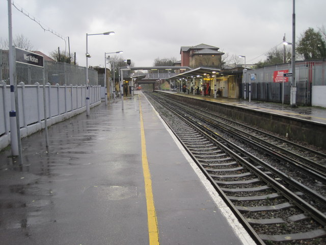 West Wickham railway station, Greater London