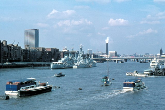 London, River Thames - 1975