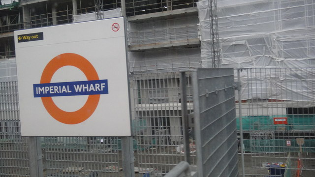 Imperial Wharf station, SW6
