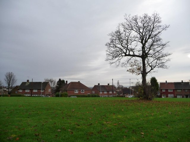 Public open space above Barncroft Close